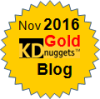 Top KDnuggets Blogger for November 2016