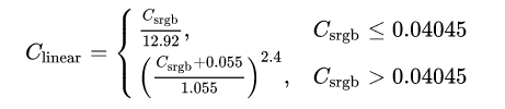Nonlinear transformation of gamma